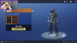 * LEGENDARY SKIN CROW + COLLECTION THIEVES * SHOP FORTNITE 11/07/18