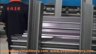 hydraulic metal door frame bending machine, door frame production line