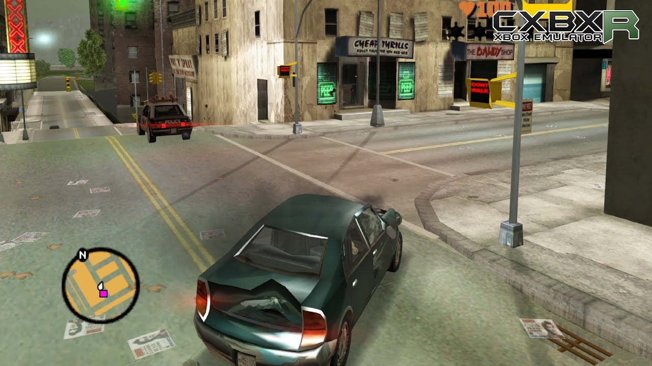 Cxbx-Reloaded Xbox Emulator - Grand Theft Auto III Ingame! (688238c4)
