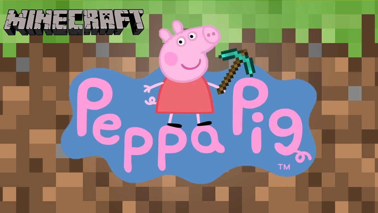 Download Peppa Pig Plays Minecraft Again