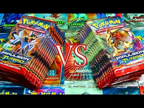 Ouverture de 20 boosters Pokémon XY8 Impulsion Turbo - EPIC CARTE POKEMON GOLD !