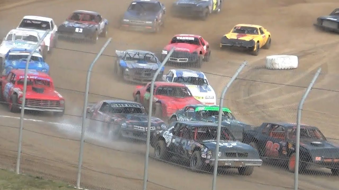 Street Stocks B-Main & Trophy Dash @ Iron Giant-Grays Harbor Raceway 2019