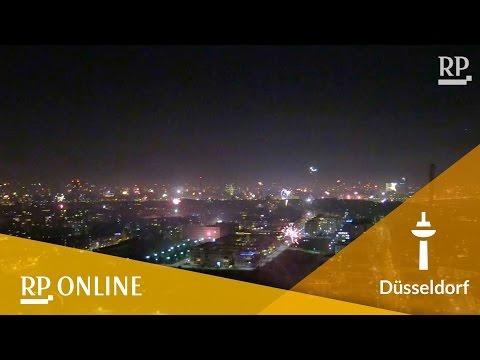 Silvester-Feuerwerk: Düsseldorf begrüßt das neue Jahr