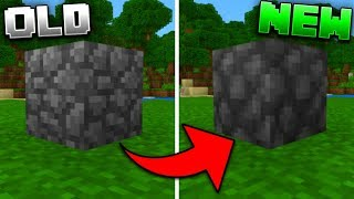 New Updated Textures in Minecraft Pocket Edition (1.13 Texture Concept)