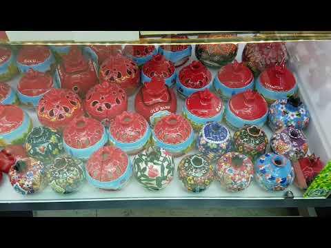 Azerbaijan Baku National souvenirs أذربيجان باكو هدايا تذكارية
