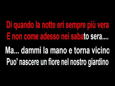 Rino Gaetano - A mano a mano - Karaoke