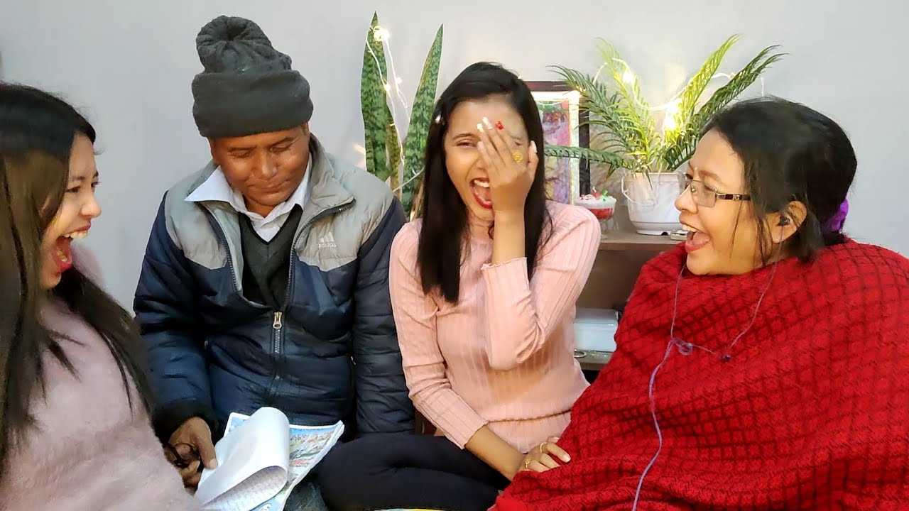 BABA YAORE NGCDI 👨👨👧👧/ WHISPER CHALLENGE GONE WRONG 😂 / FAMILY TIME / TERESA MEINAM Manipur