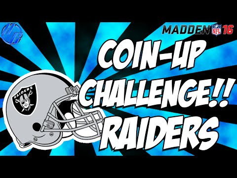 "Madden 16 - Coin Up ""Eagles vs Raiders"" Weekly Challenge"