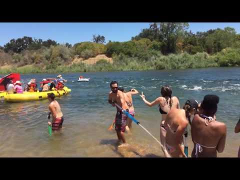 2016 American River Rafting Sacramento July 4th Celebration