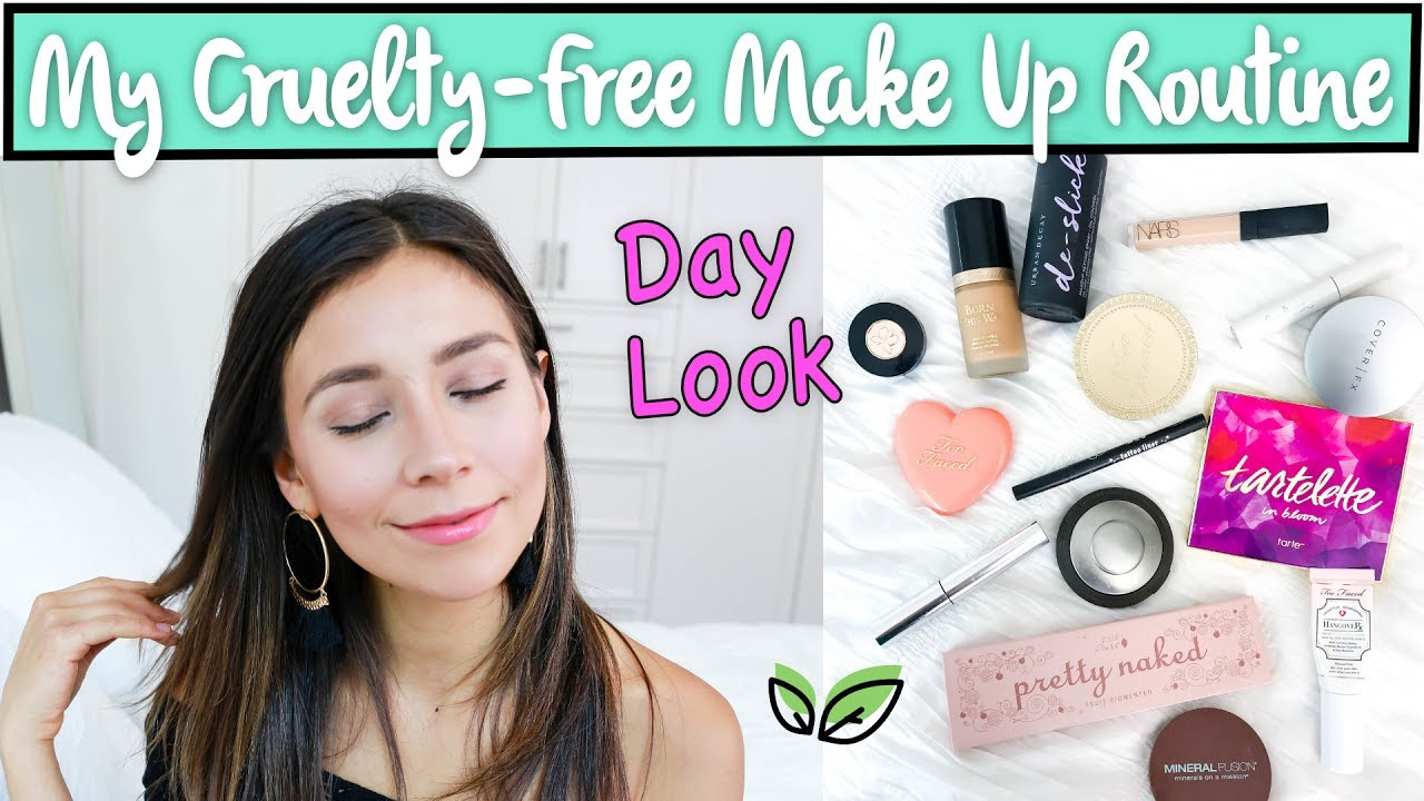 cruelty free makeup routine