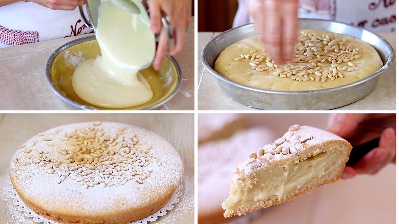 torta della nonna fatta in casa ricetta facile homemade