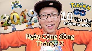 10 điều mình sẽ làm để tham gia Community Day event tháng 12 này trong Pokemon Go
