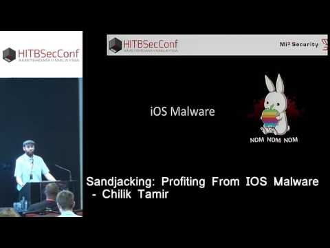#HITB2016AMS D1T2 - Sandjacking: Profiting From iOS Malware