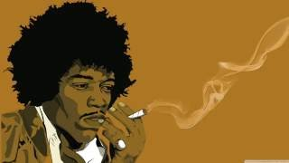 Jimi Hendrix - All Along The Watchtower - Backing Track With Lyrics ᴴᴰ