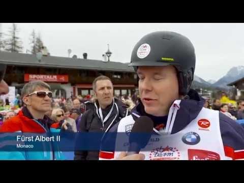 Olympiaregion Seefeld begeisterte Welt-Sportstars rund um Fürst Albert von Monaco - VIDEO