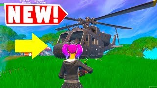 *NEW* Fortnite SECRET Helicopter!