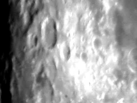 bresser messier 203 1000 moon test   youtube