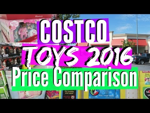 Costco Toys 2016 | Price Comparison