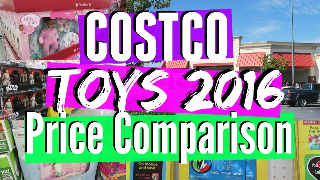 costco toys 2016 price comparison