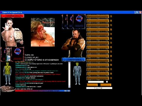Master of the squared circle online wrestling game youtube