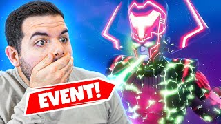 GALACTUS EVENT! NEW MAP REVEAL? - STREAMERS REACT