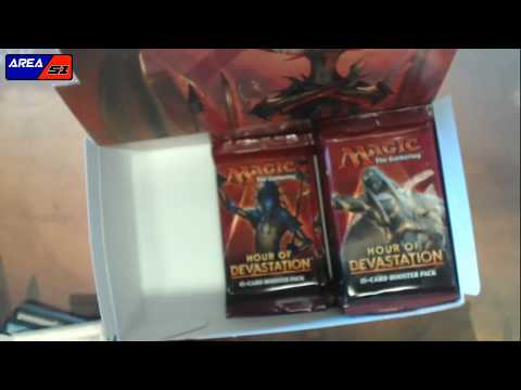 Magic the Gathering Hour of Devastation Case Booster Box Pack Mass Opening Unboxing Area 51 TCG