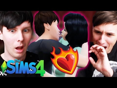 NETFLIX AND DIL - Dan and Phil Play: Sims 4 #22