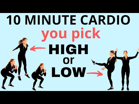 CARDIO WORKOUT | FULL BODY WORKOUT 10 MINUTES | HIIT HOME WORKOUT  BURN FAT | Lucy Wyndham-Read