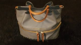 Review & What's in my purse?Dooney & Bourke Large City Dawson!💕👜