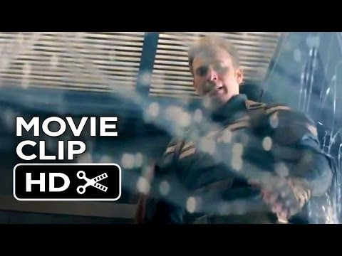 Captain America: The Winter Soldier Movie CLIP - Elevator (2014) - Chris Evans Movie HD streaming vf