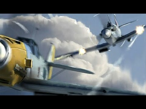 The Battle of Britain Scene The German film Spitfire vs Bf 109