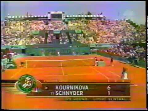 1999 partial match: Kournikova vs Schnyder