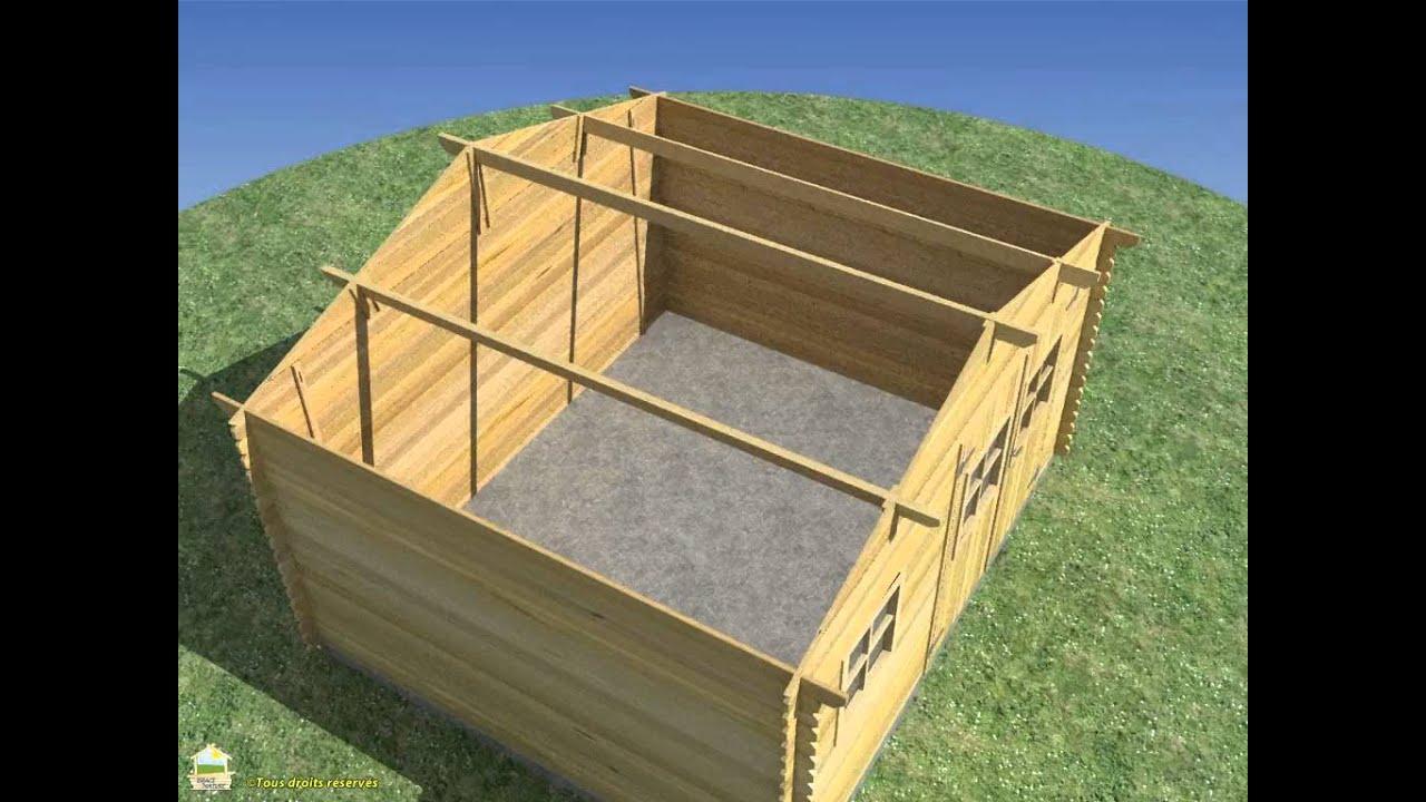 Instalar una caseta de madera con tejado osb youtube for Cabane bois de jardin