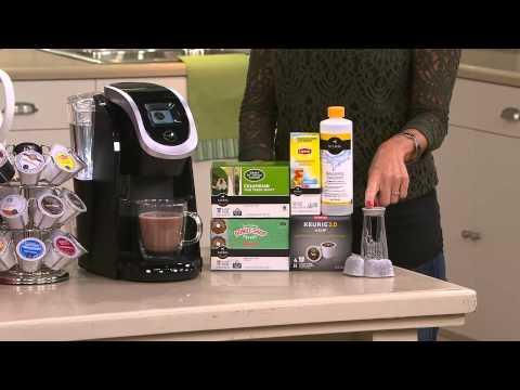 Keurig 20 K250 Coffee Maker W 31 K Cup Packs Water Filter Starter
