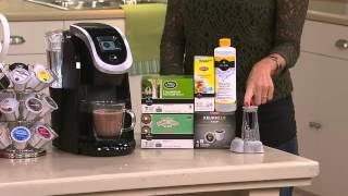 Keurig 2.0 K250 Coffee Maker w/ 31 K-Cup Packs & Water Filter Starter Kit with David Venable