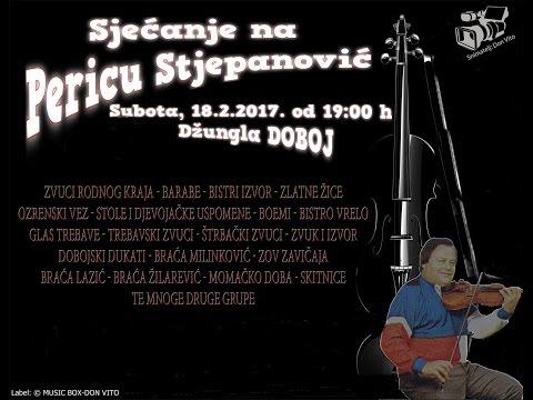 """KONCERT """"SJECANJE NA PERICU STJEPANOVIC"""" DOBOJ 2017"""