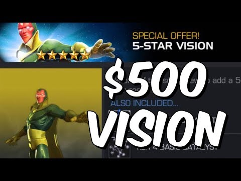 $500 Vision - New Vision Offer Thoughts & Overview - Marvel Contest Of Champions