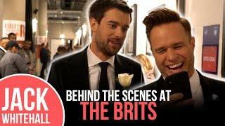 Jack Whitehall BEHIND THE SCENES AT THE BRITS 2018