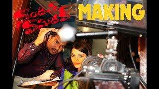 Nanditha Vasudev Making | A Short Film By Vikram Aditya | Latest 2018 Telugu Movies