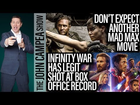 Slim Chance Of More Mad Max, Avengers Opening Weekend Record Possible - The John Campea Show