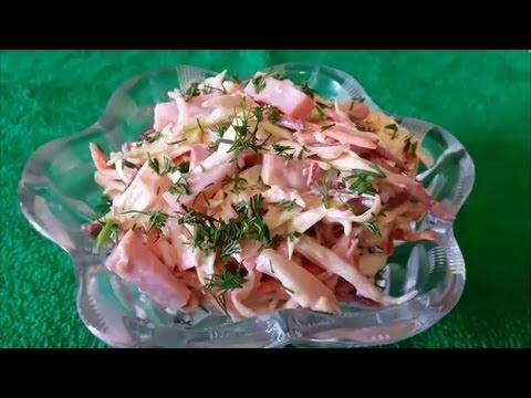 Салат ВИТАМИНКА Салат рецепт Быстрый и полезный рецепт салата Salad recipes