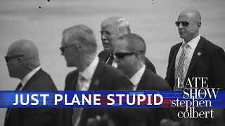 President Trump Simplifies Air Force One