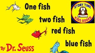 Скачать One Fish Two Fish Red Fish Blue Fish Dr Seuss Story Books For Children Read Aloud Out Loud