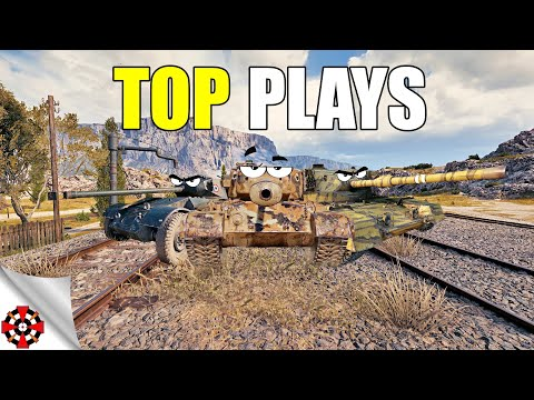 World Of Tanks - TOP PLAYS! #17 (WoT Epic Gameplay Ft. FV4202 | Hotchkiss EBR | T26E5)