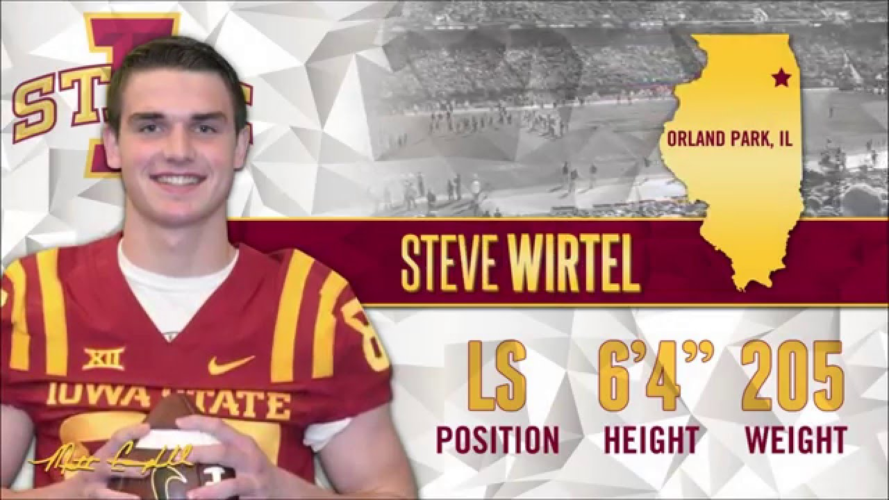 size 40 8c259 87733 2016 Iowa State Football National Signing Day: Steven Wirtel
