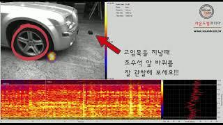 [사운드캠 코리아]사운드캠, SoundCam, 음향카메라, 사운드카메라 차량 하체 잡소리 측정