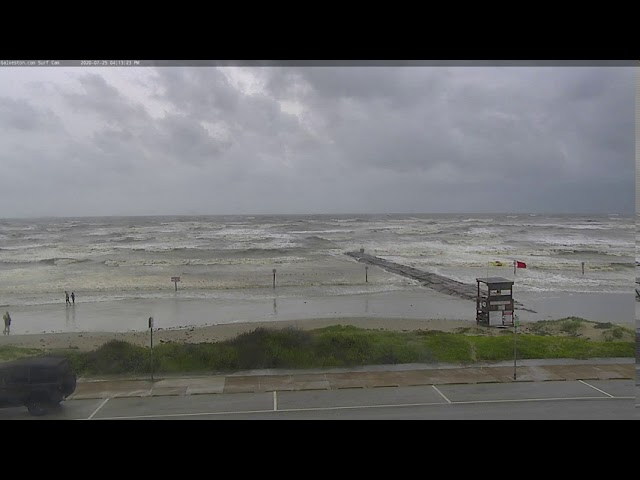 Surf Cam (South) Timelapse During Hurricane Hanna