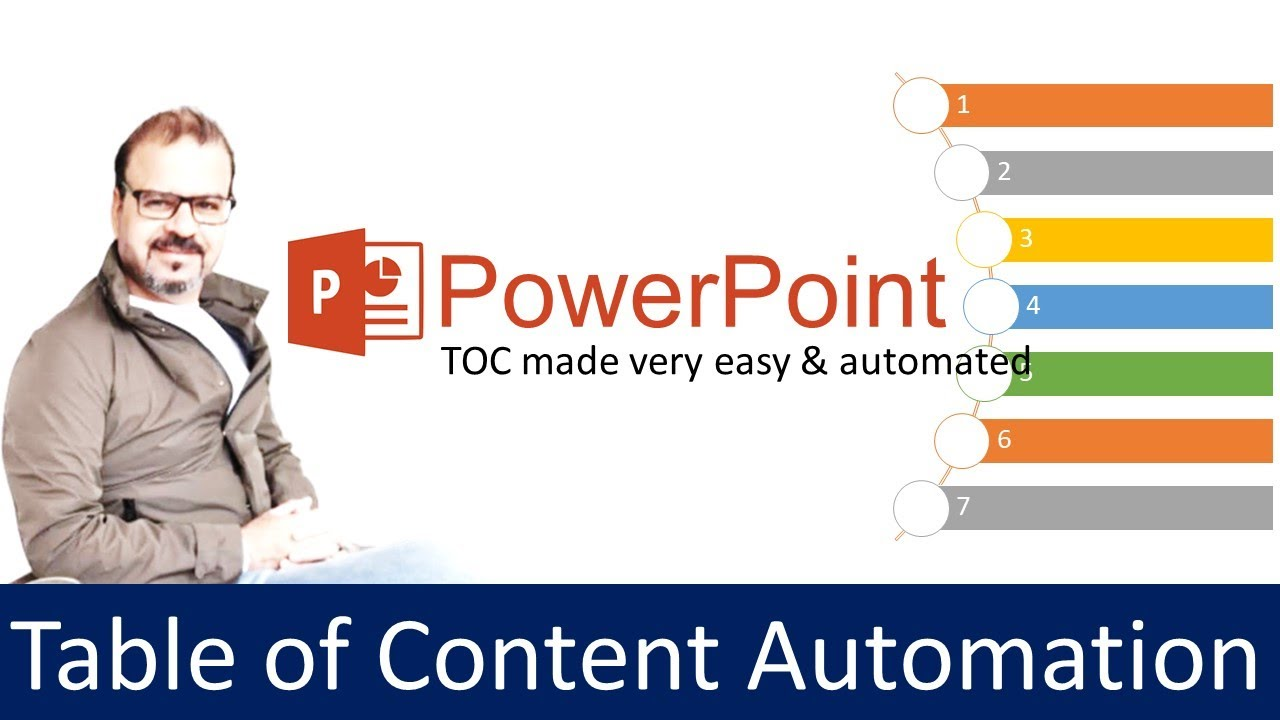 Powerpoint Tutorial Table Of Content Automation Youtube