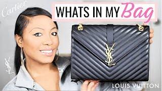 What's In My Purse 2018 | Designer Replica Haul -YSL, Louis Vuitton