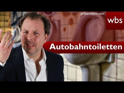 Darf die Nutzung von Toiletten an Autobahnraststätten Geld kosten?   Rechtsanwalt Christian Solmecke